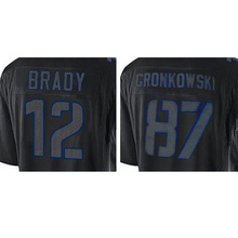 100% Stitched Men's 12 Tom 87 Rob Brady Adult Gronkowski Fashion Edition Fast Free Shipping(China (Mainland))