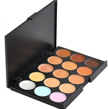 Professional 15 Colors Camouflage Concealer Makeup Palette New Free Shipping 30(China (Mainland))
