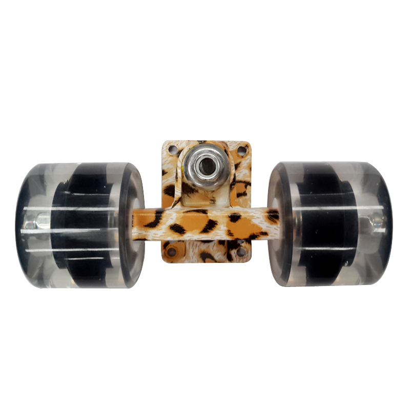 "Longboard Parts 3"" Skateboard Trucks + 60X45mm pu Wheels + ABEC-7 Bearings Combo Set Fit Penny Board(China (Mainland))"