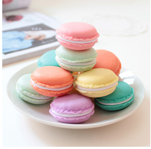 5pc/Lot Mini Macaron Storage Box for Jewelry, Lovely Candy Color Small Thing Organizer Storage Boxes(China (Mainland))
