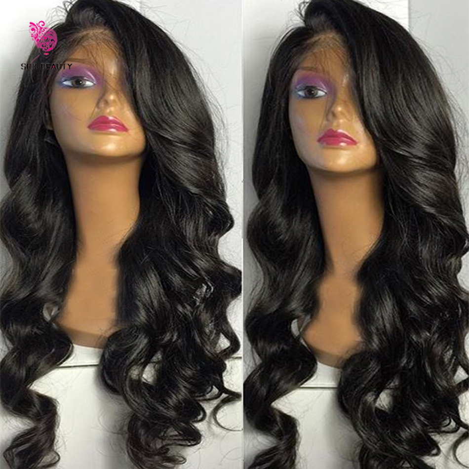 150 High Density Full Lace Wig Loose Body Wave Lace Front Human hair Wigs Virgin Brazilian Glueless Full Lace Human hair Wigs(China (Mainland))