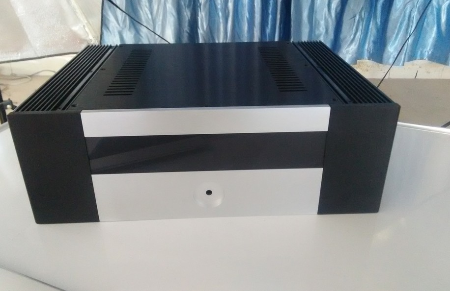 4315B Full Aluminum amplifier chassis / Class A amplifier chassis / Enclosure / case / DIY BOX ( 435*150*308mm )<br>