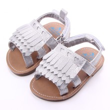 2016 New Fashion Baby Summer Shoes Solid Antislip Infants First Walkers Outdoor Toddlers Bebe Shoes(China (Mainland))