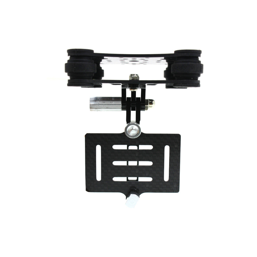 F10043 Carbon Fiber Camera Gimbal Mount FPV Shock Absorber Damping PTZ for DJI Phantom Quadcopter Multicopter Gopro Hero 3 FS(China (Mainland))