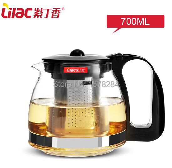 Glass Teapot Coffee Maker : Free Shipping 700ML Stainless Steel Tea Coffee Water Pot Kettle Cup Coffee Maker Heat Resistant ...