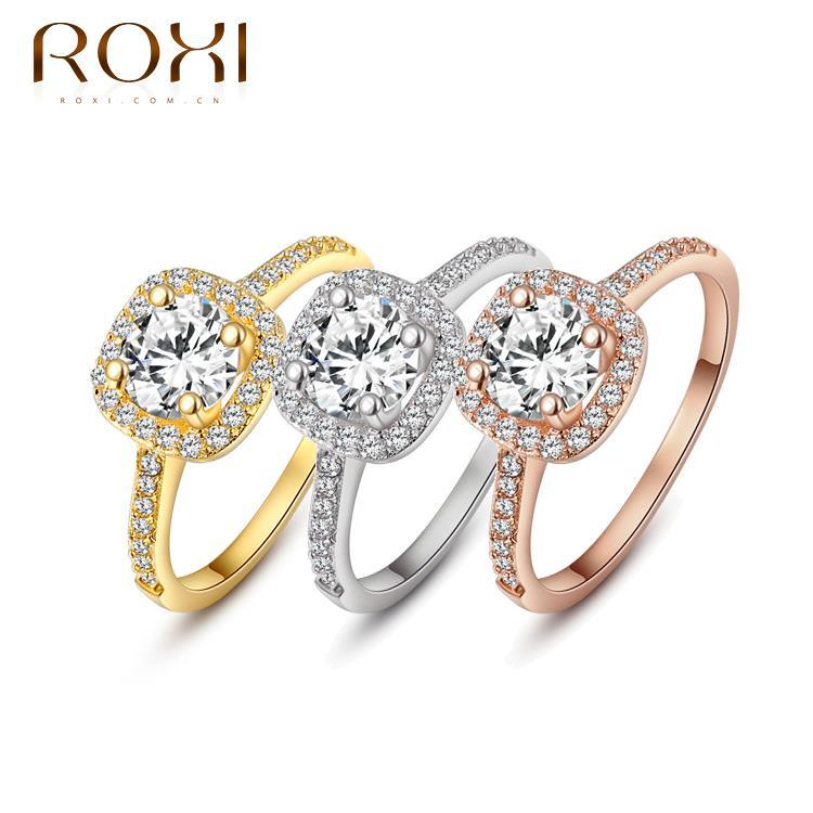 roxi brand delicate cubic zirconia rings jewelry