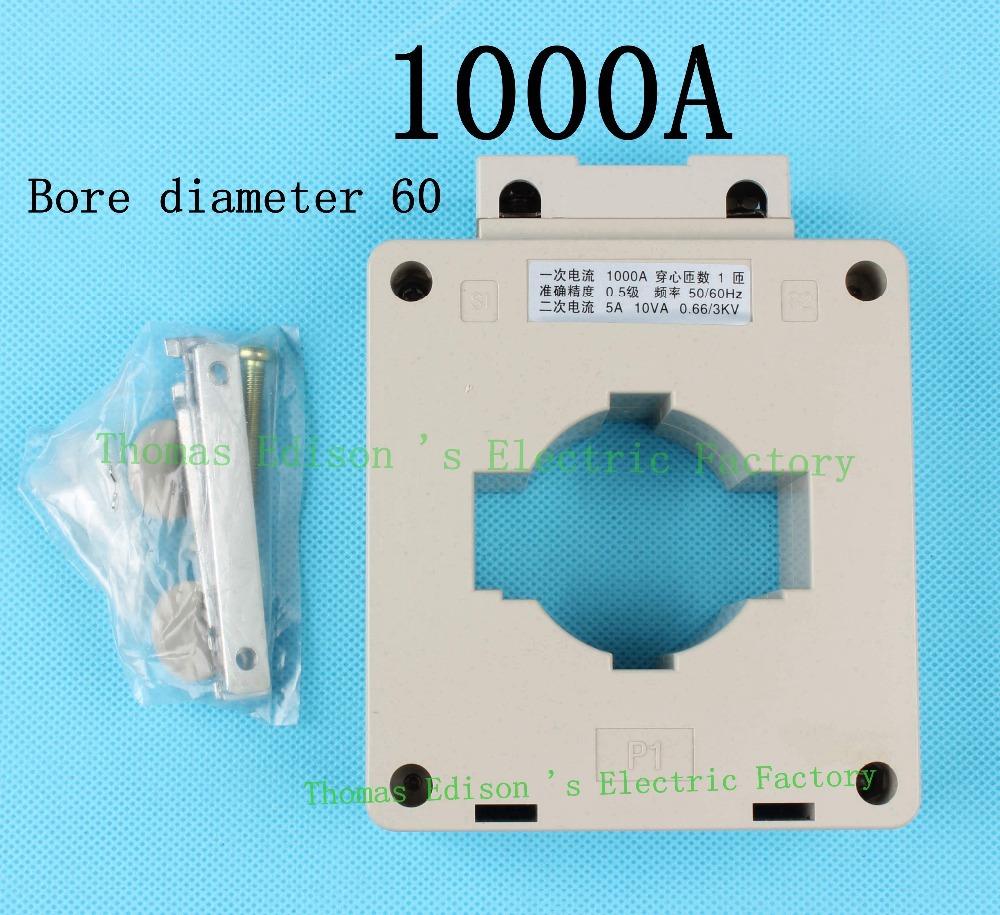 BH-1000/5 1000A BH LMK series current transformer bore diameter 60 for watt meters use(China (Mainland))