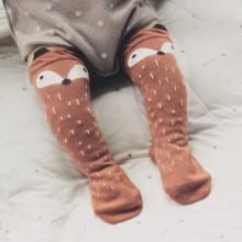 Fancy Designer Leg Warmers Kawaii Cartoon Fox Socks Brand Baby Boys Girls Legging Protectors For Children