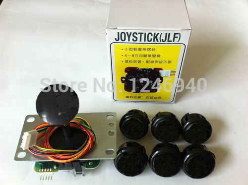 Sanwa Joystick JLF-TP-8YT with 6 Buttons OBSF-30 Arcade game machine Button Kit<br><br>Aliexpress