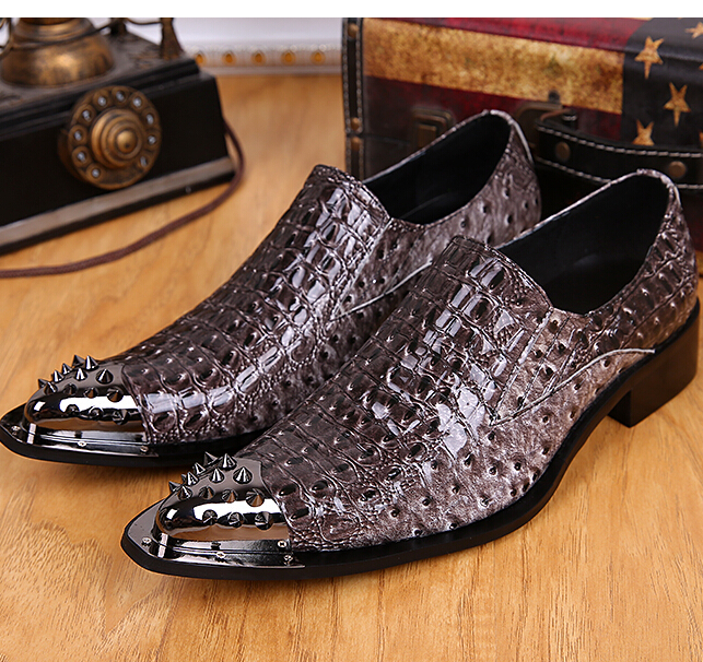 2015 Men's shoes 37-46 Leather Flats Business Dress Oxfords Shoes pointed toe Casual Italy Brand Retro wedding party