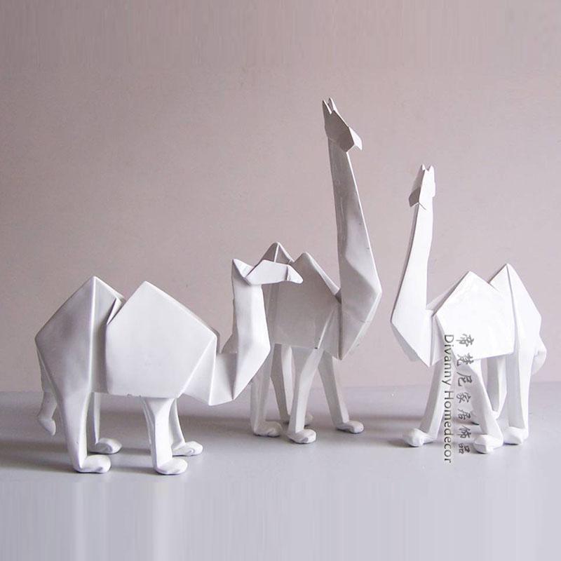 Camel animal decoration modern brief crafts home accessories resin birthday gift furniture(China (Mainland))