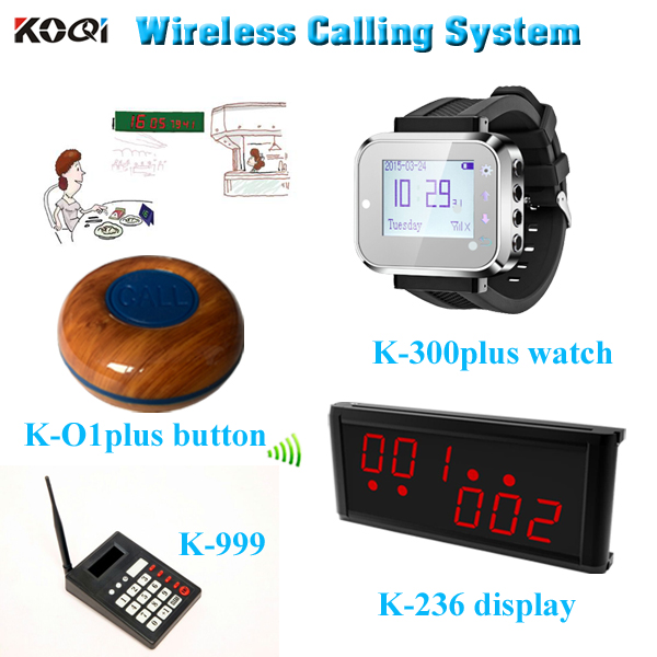 Great Restaurant Service Assistant Customer Call To Waiter Pager Wireless Service Button Factory Hot Sales Item(China (Mainland))