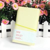 Смайлик дневник милой планировщик ноутбук мини-хороший журнал МЕМО подарок конфеты цвет