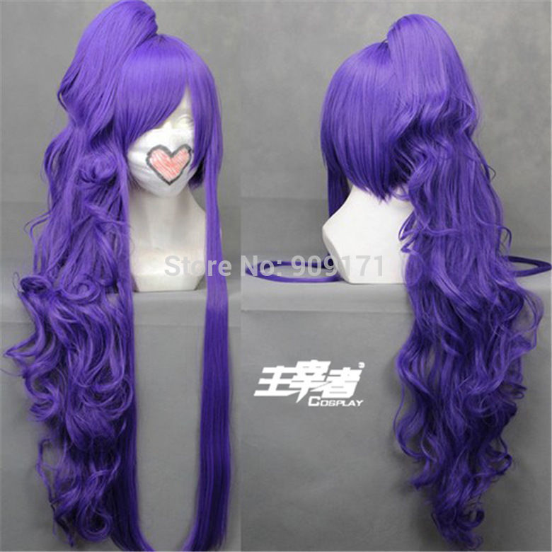 Vocaloid Gackpoid Miku Gakupo Gintama Cosplay Anime Costume wig +Ponytail (B0320)<br><br>Aliexpress
