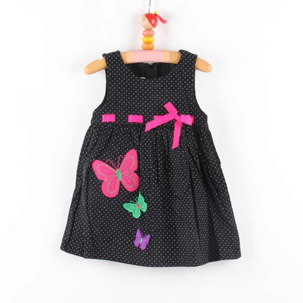 Summer Cotton Baby Girl Dress With Bow Fit 0-3/3-6/6-9/9-12/12/18/24M 10pcs/lot Wholesale Free Shipping<br><br>Aliexpress