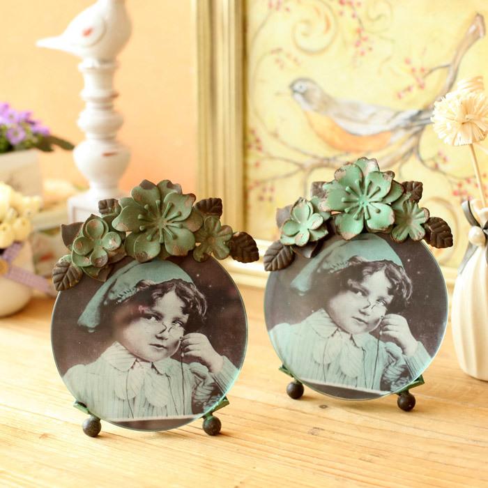 Рыба испанский - америка дом ультра-тихий принцесса железо ручная роспись цветы европейский creative 6-дюймовый фоторамка картина рама