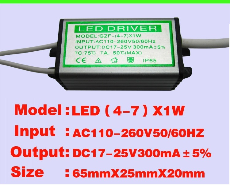 Waterproof design constant voltage led driver 4w 20v power supply for led strip It can be use indoor and outdoor(China (Mainland))