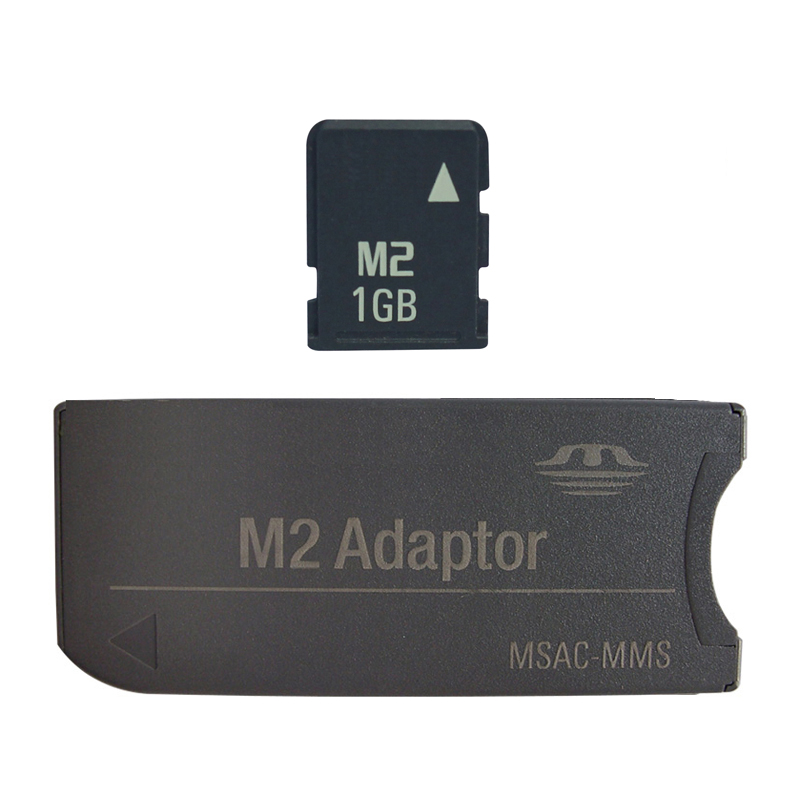 1GB 2GB 4GB M2 card with Adapter into Memory Stick Card Memory Stick Micro with M2 adaptor(China (Mainland))