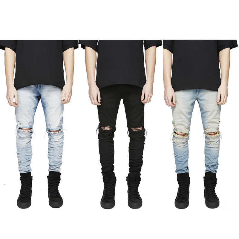 Online Get Cheap Fear of God Mens Distressed Jeans -Aliexpress.com