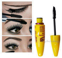 2015 New arrival brand Eye Mascara Makeup Long Eyelash Silicone Brush Curving Lengthening Colossal Mascara for