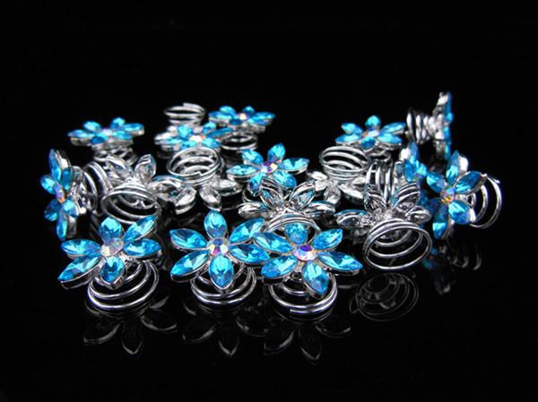 2015 Bridal Hair Accessories 100pcs Snowflake Twists Spins Hair Pins Clip Accessory(China (Mainland))