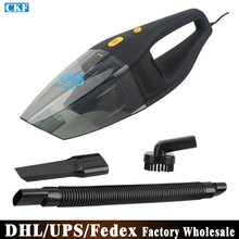 (Wholesale) 50pcs/lot Y6601 Portable Handheld Car Vacuum Cleaner Wet And Dry Dual-use Super Suction 5M Cable(China (Mainland))
