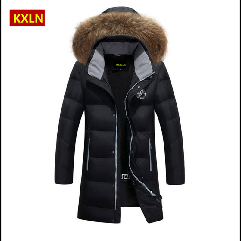Winter Jacket Men White Duck Down Long Jackets Keep Warm Coat Casual Men's thick Down Overcoat Jackets parka homme Brand New 801(China (Mainland))