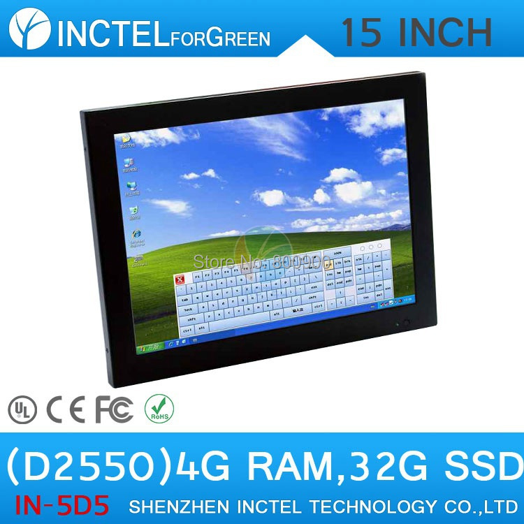 15 Inch Industrial Computer Touch Screen PC with high temperature 5 wire Gtouch industrial embedded 4: 3 6COM LPT 4G RAM 32G SSD<br><br>Aliexpress