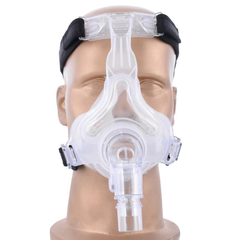 1pc high quality Healthy Homecare Liquid Silicone CPAP Full Mask For Sleep Apnea <br><br>Aliexpress