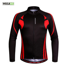 WOSAW flame foreign trade heat A pin long sleeve Jacket Bicycle bicycle serve Ventilation long sleeve serve BC 287