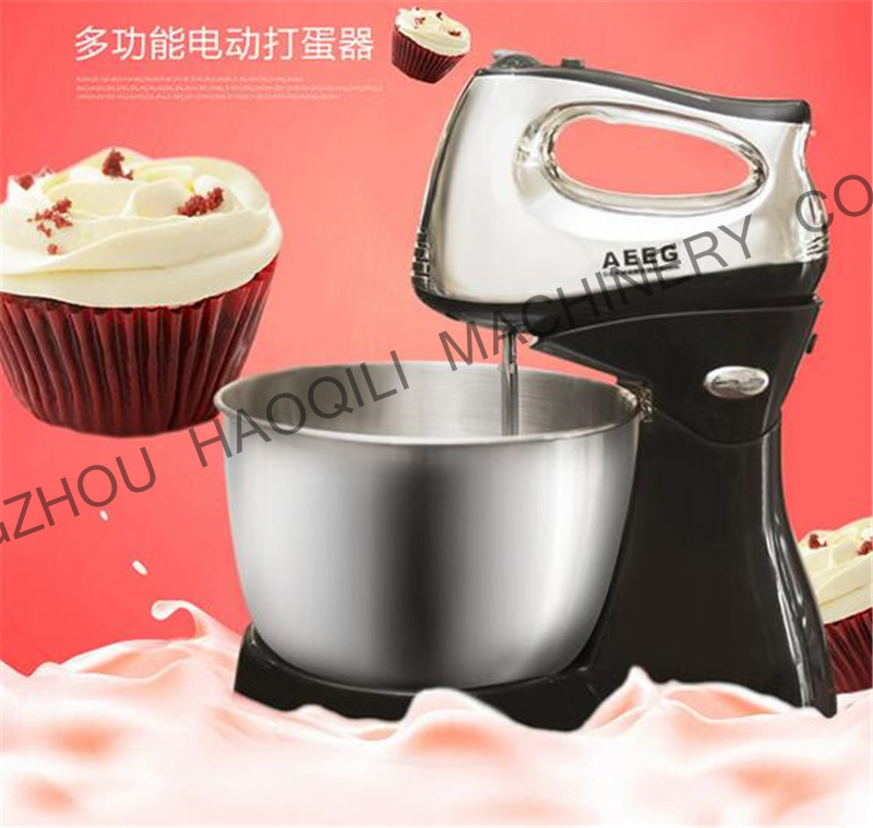 Good Quality Stand Mixer Dough Mixer 3L Kitchen Stand Food Mixer With Stand And Bowl Electric Hand Mixer For Egg Cream Dough(China (Mainland))