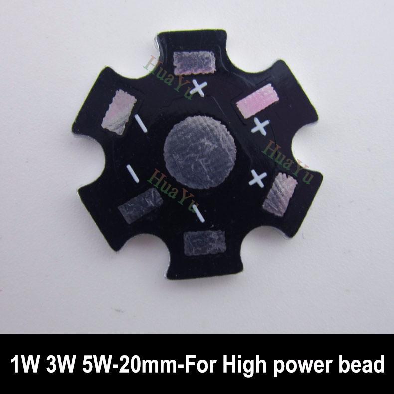2000pcs/lot 1W 3W 5W High Power LED Heat Sink Aluminum Base Plate PCB for LED bulb lamp lighting Free shipping<br><br>Aliexpress
