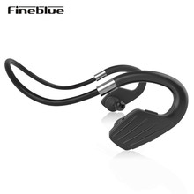 Buy Fineblue M1 Wireless Bluetooth 4.1 Sports Running Stereo Earphones Headset Mic Power display Smart phone for $19.52 in AliExpress store