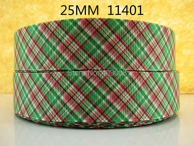 50Y11401 kerryribbon freeshipping 1'' printed Grosgrain ribbon Clothing accessories Bow Material Gift Wrapping(China (Mainland))