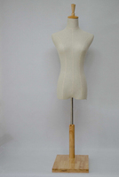 Linen costumes model mannequin bust with base table MANNEQUIN,M00024