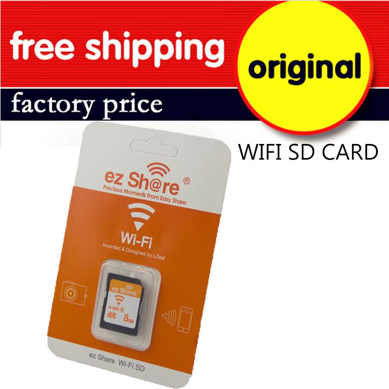 100%Original Real Capacity Shared Memory SD Card 32GB Class 10 SDHC Flash Memory WIFI SD Card cartao de memoria 32GB 16GB 8GB(China (Mainland))