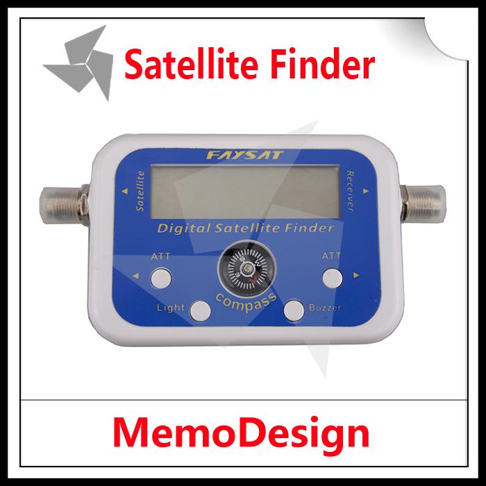 Digital Satellite Signal Finder SF95 / SF06 Meter Compass DirecTV Dish FTA LNB Satellite finder localizador por satelite(China (Mainland))