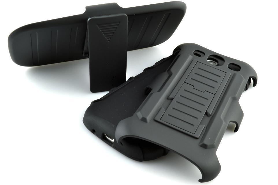 10pcs New Black Combo Holster Kick Stand Belt Clip Rubberized Cases hard Cover for Samsung Galaxy S3 i9300 Slide bracket