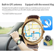 2016 Newest K18 SmartWatch phone 3G WCDMA Android 4.4 Support SIM Card WIFI GPS Bluetooth 512M RAM 4G ROM Heart rate Tempered