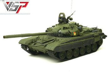 1/24 Russia army battle tank infrared tank ready to go