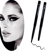 Hot Sale Black Eye Liner Rotatable Eyeliner Waterproof Automatic Rotary Pencil For Eye Makeup Cosmetics