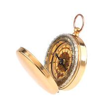 Camping Hiking Portable Brass Pocket Golden Compass Navigation   Sale B2C Shop(China (Mainland))
