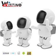 Buy 960P Robot IP Camera WIFI Baby Monitor 1.3MP Wireless CCTV Audio PTZ IR Night Vision Remote Home Smart Monitoring TF Card Indoor for $77.14 in AliExpress store