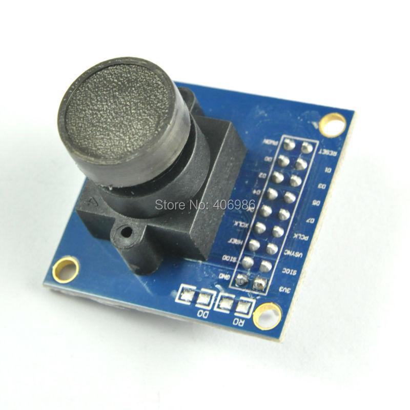 3 pcs/lot VGA OV7670 CMOS Camera Module Lens CMOS 640X480 SCCB Compatible W/ I2C Interface FZ0175Free Shipping(China (Mainland))