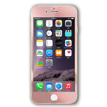 Nano Technology Full Coverage Tempered Glass Screen Protector Guard Protection 2.5D Curved Edge 9H Hardness for iPhone 6 6S Plus