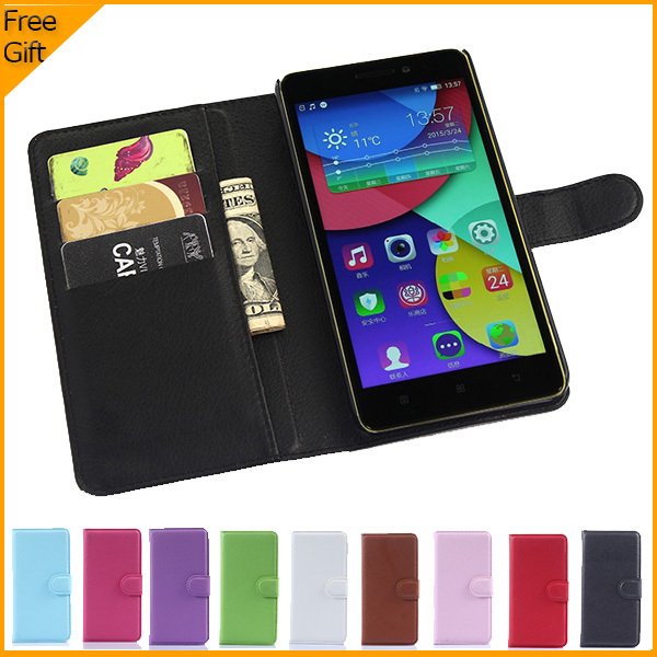 Luxury Original PU Leather Flip Case Cover For Lenovo K3 Note K50 T5 Case Cell Phone