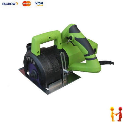 Freeshipping, 125MM dust free grooving machine, Concrete wall cutting machine, dust collector(China (Mainland))