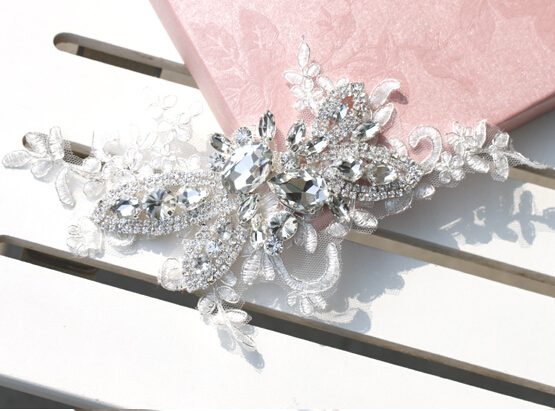 Bridal Wedding Hair Accessories Crystal Clear Bridal Hair Crown Decoration Hair Jewelry Bride Accessories For Party