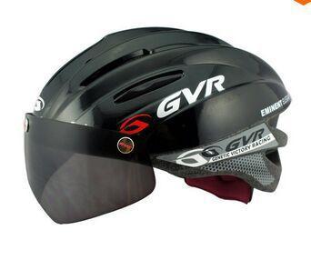 Cycling Bicycle Helmet Ultralight Integrally-molded MTB Road Bike Helmet goggles tt helmet With Magnetic UV Visor GVR Helmet(China (Mainland))