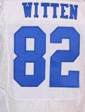 2016 New Roster Mens High Quality 100% Stitched 82 witten Color lee Blue Thanksgiving White Elite Throwback Jerseys(China (Mainland))
